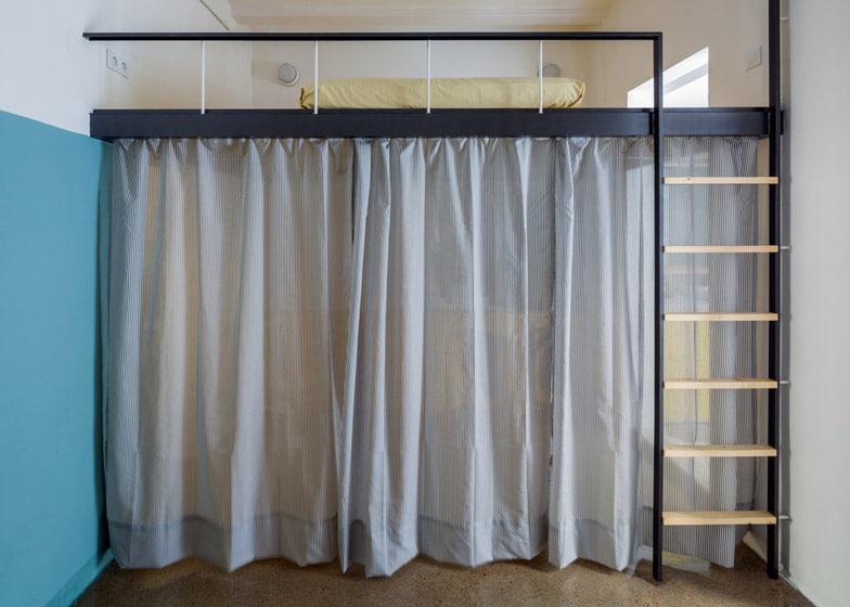 10 formas de organizar espacios peque os casa y - Casa diez cortinas ...
