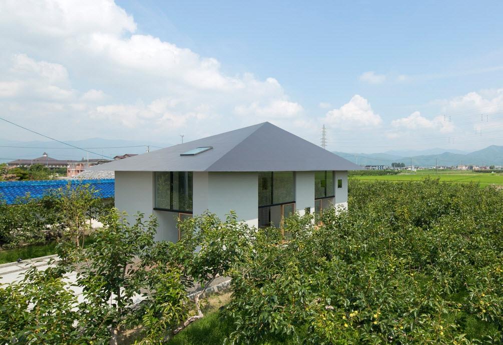 Dise o de casa estilo japon s con planos construye hogar for Tirol en techos de casas