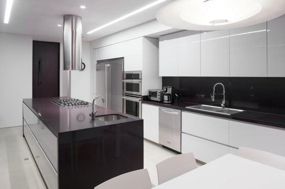 Moderno dise o casa de un piso con planos construye hogar - Planos de cocinas modernas ...