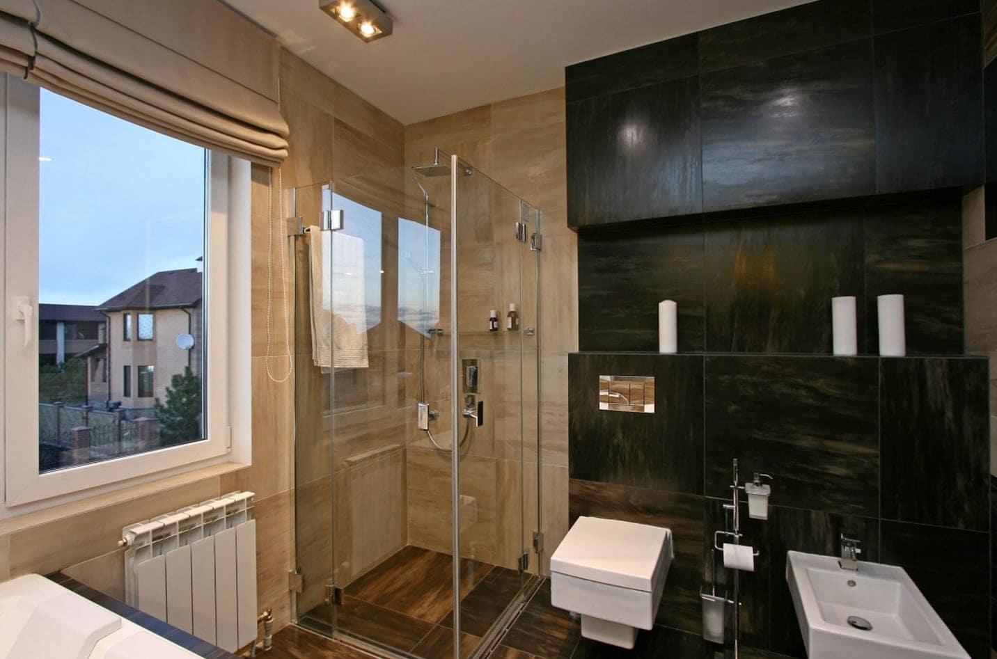 Dise o casa moderna dos plantas y planos construye hogar - Cuarto de bano de diseno ...