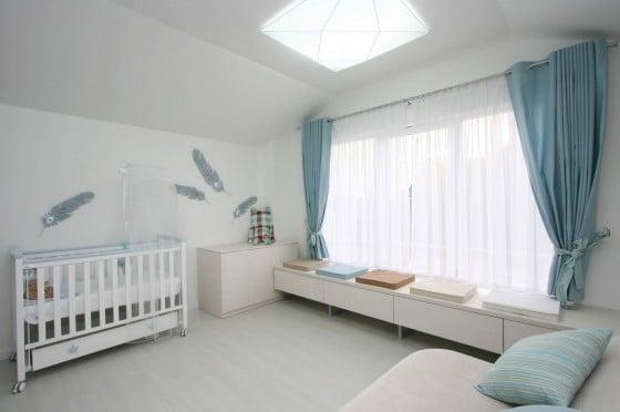 Diseño de cuarto de bebe