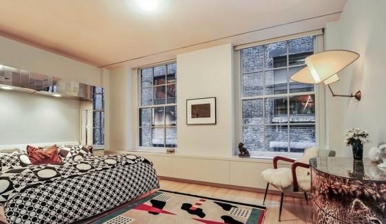 Diseño de dormitorio apartamento clásico