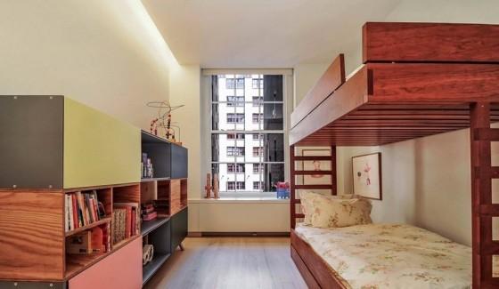 Diseño de dormitorio pequeño de apartamento