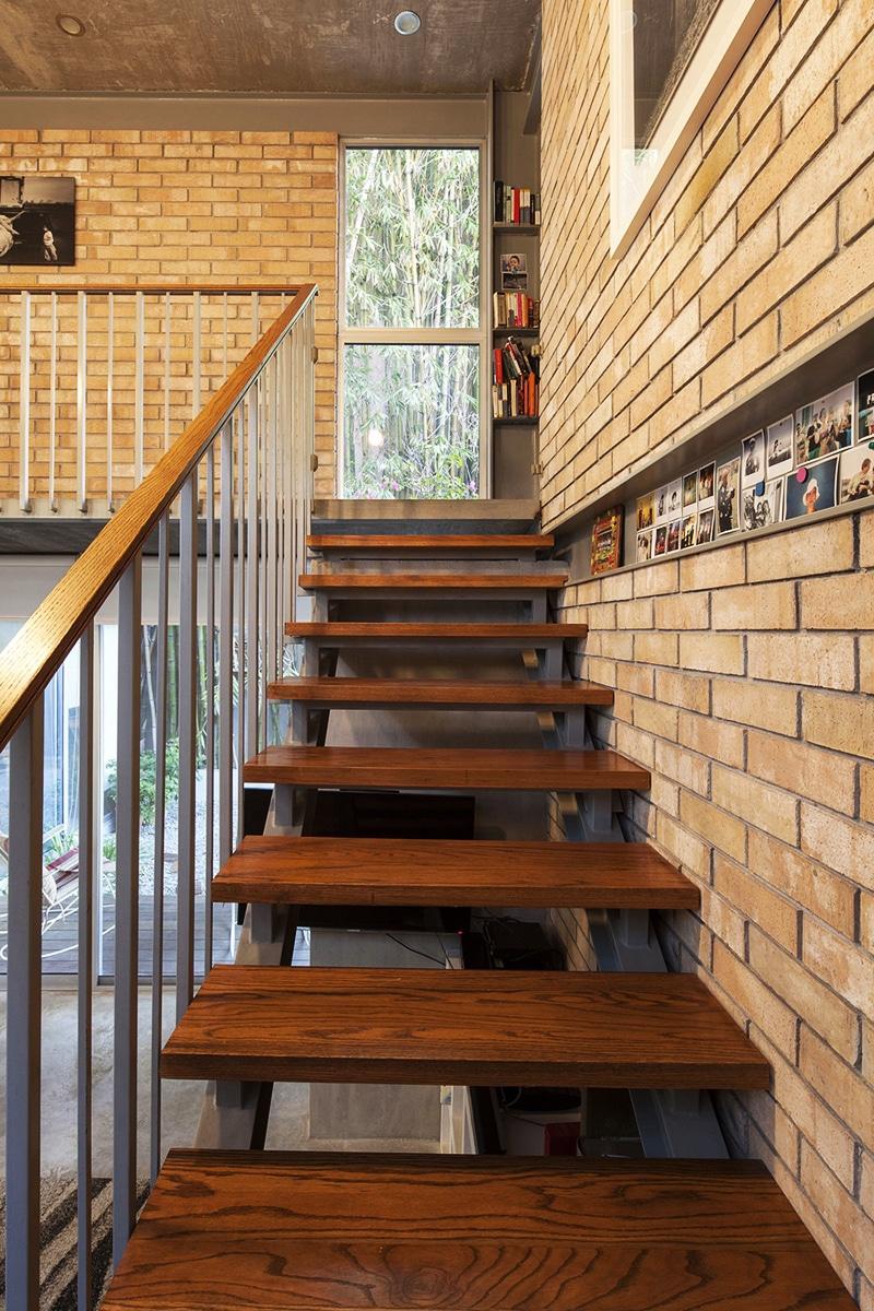 Planos de casa en forma de l dise o construye hogar - Peldanos de madera para escalera ...