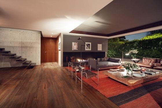 Dise o y planos de casa cuadrada contrucci n construye for Salas modernas de casas