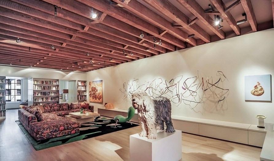 Dise o departamento rectangular planos construye hogar - Decoracion de interiores rustico moderno ...
