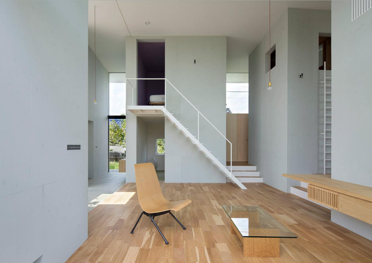 Dise o de casa estilo japon s con planos construye hogar for Disenos para escaleras interiores