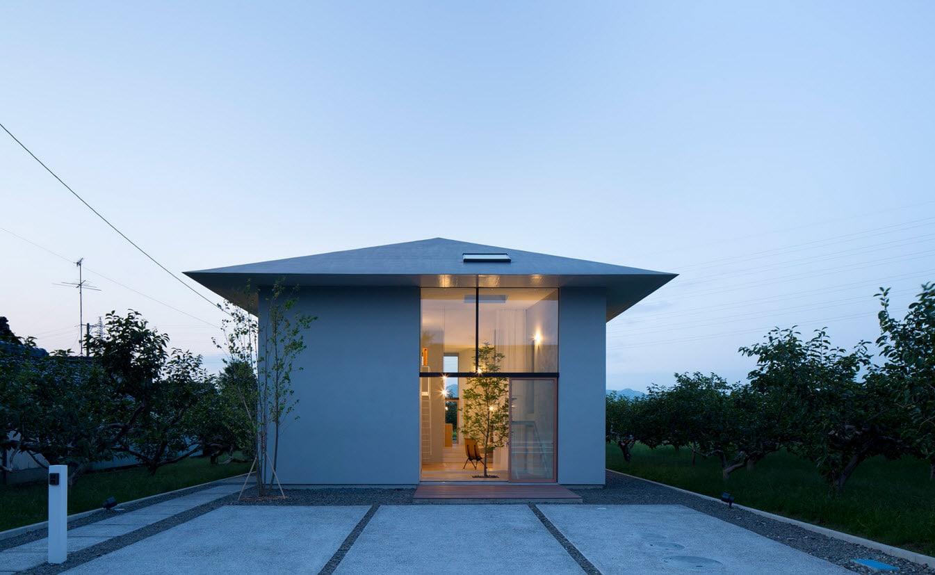 Dise o de casa estilo japon s con planos construye hogar for Architecture orientale