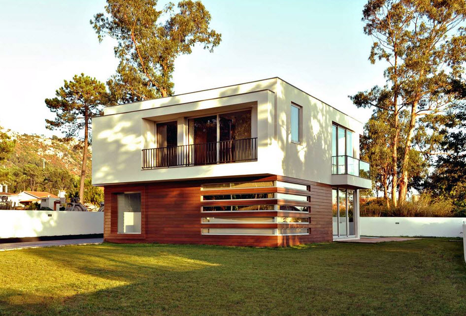 diseo de casa cuadrada de dos pisos con planos y fachadas construye hogar