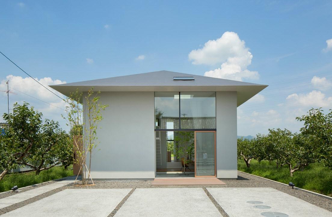 Dise o de casa estilo japon s con planos construye hogar for Fachada de casas modernas estilo oriental