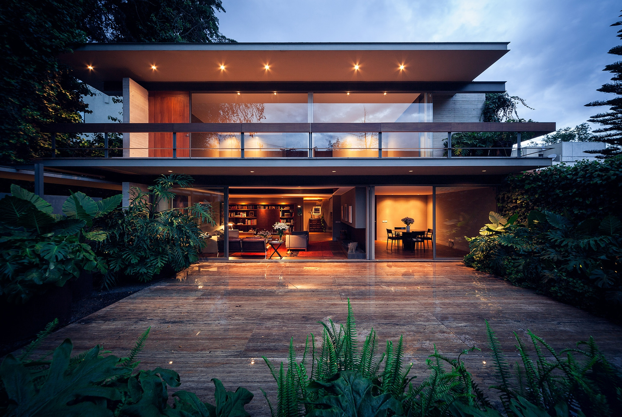 Dise o y planos de casa cuadrada contrucci n construye hogar for Casa moderna