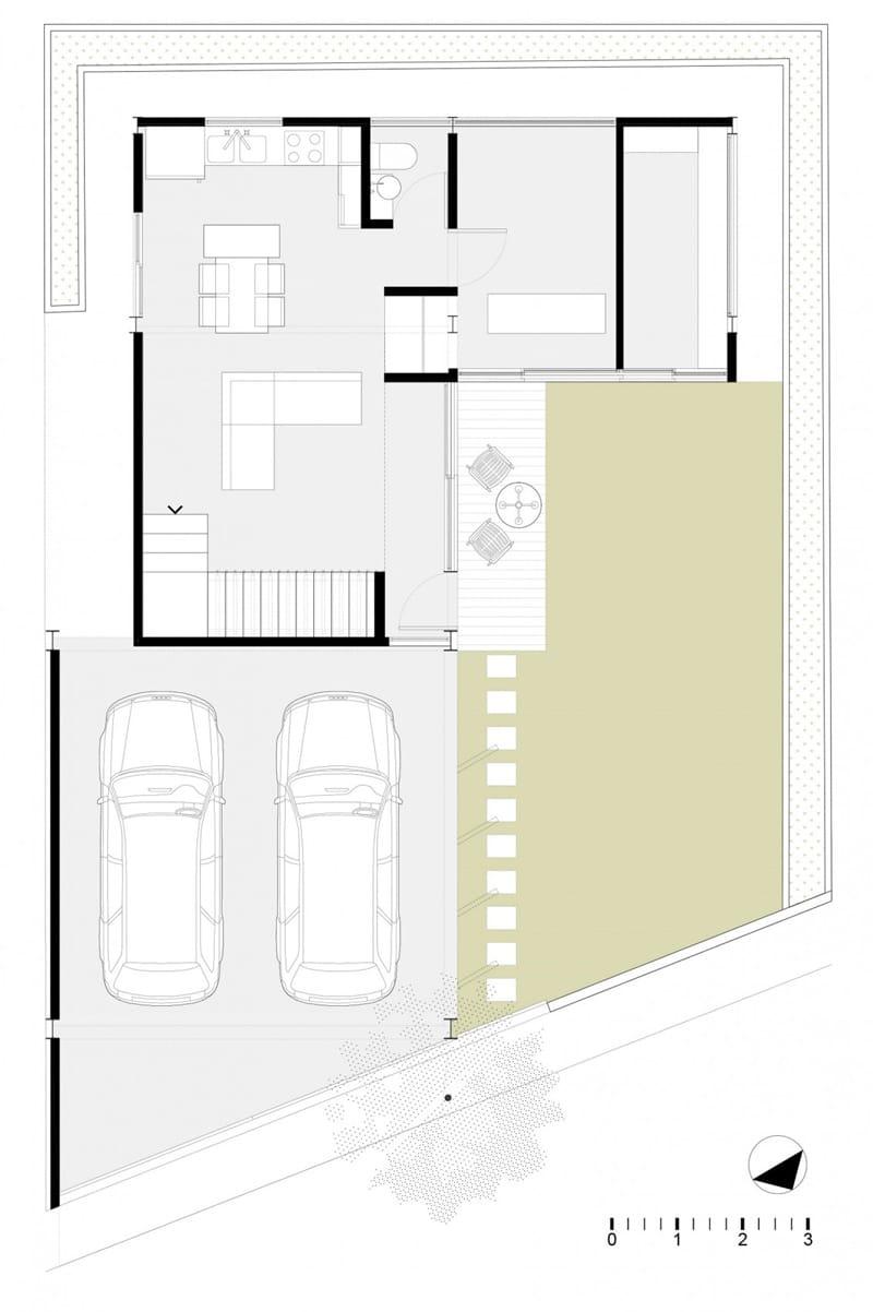 Planos de casa en forma de l dise o construye hogar - Fotos de casas en forma de l ...