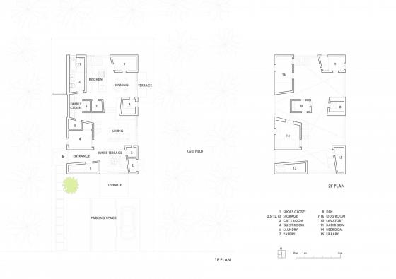 Planos de casa estilo japonés