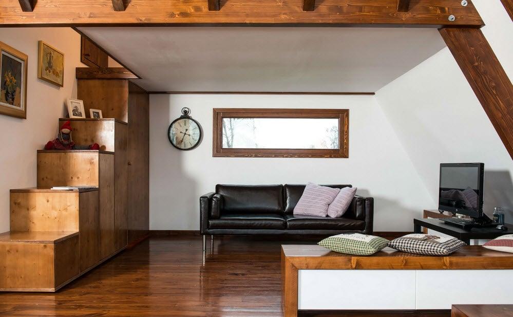 Dise o de casa peque a de madera autosustentable for Diseno de interiores de casas pequenas modernas