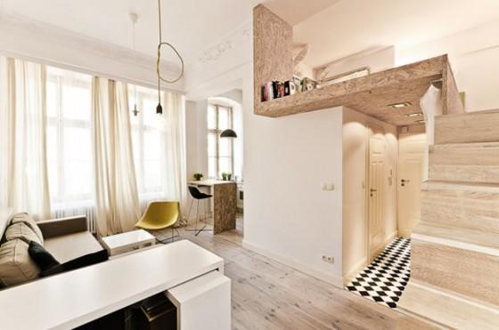 Ampiar pequeño apartamento
